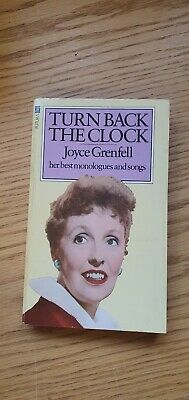 Turn Back The Clock Book By Joyce Grenfell  • 9£