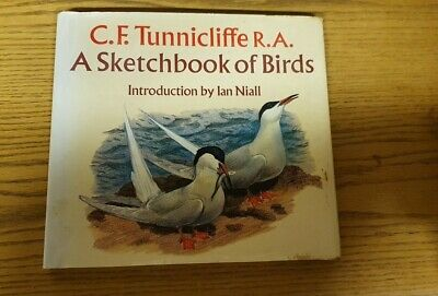 C F Tunnicliffe R A - A Sketchbook Of Birds 1979 • 24.99£