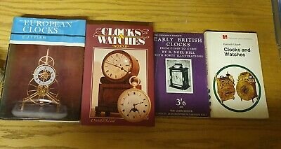 A Vintage Clocks & Watches In Colour Book / Horology • 12£