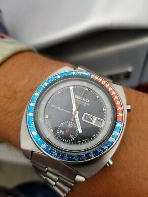 $ CDN582.31 • Buy Seiko Pepsi Pogue 70m Water Resist 6139-6002 Vintage Watch