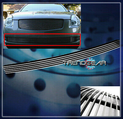 $37.95 • Buy Front Bumper Lower Billet Grille Aluminum Polished For 04 05 06 Maxima Sedan 4dr
