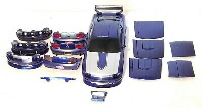 $34.99 • Buy Radio Shack Xmods 2005 Ford Mustang Gt Body Shell W/ Front Clip & Parts ~ Hoods