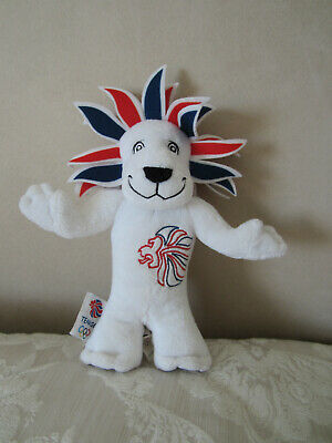 Official London 2012 Olympics Team GB Mascot Lion Soft  Toy 25 Cm 10  • 4.45£