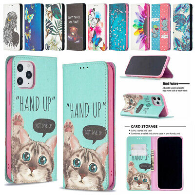 AU9.05 • Buy Case For IPhone 11 12 Pro MAX XR 8 7 6 Plus SE Pattern Leather Flip Wallet Cover