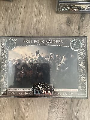 £22 • Buy Free Folk Raiders: A Song Of Ice And Fire - Brand New & Sealed