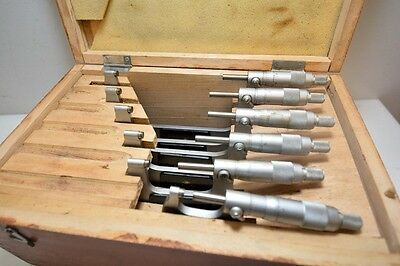 $155 • Buy MSC 0-6  Outside Micrometer Set (Inv.35393)