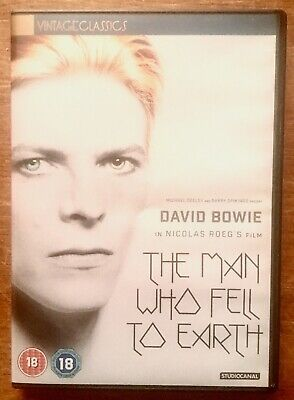 The Man Who Fell To Earth (DVD 2016 2-Disc) Studio Canal Vintage Classics • 4£