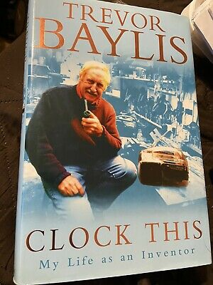 Trevor Baylis - Clock This Hard Back Book • 4£