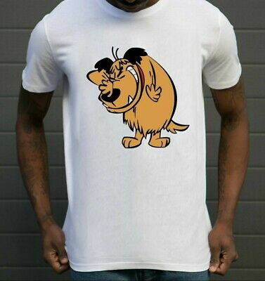 £10.98 • Buy Tee-shirt  Muttley Chien Dog  Sourire Smiley MUMBLY Wacky Races Drôle Cartoon