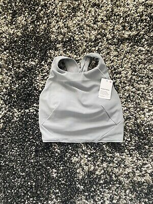 $ CDN28.40 • Buy NWT Lululemon Forward Fold Bra In Rhino Grey! Size 4!
