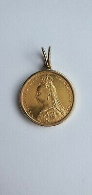 £400 • Buy 1892 Queen Victoria Gold Sovereign In Gold Ring