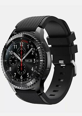 £190 • Buy Samsung Galaxy Gear S3 Frontier Smartwatch. Carefully Used. All Accessories-....