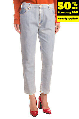 $ CDN1.71 • Buy RRP €175 DON'T CRY Jeans Size 28 Distressed Faded Slim Boyfriend Made In Italy