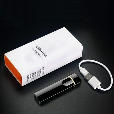 £5.75 • Buy USB Electric Flameless  Rechargeable Windproof Cigarette Lighter With Gift  Box