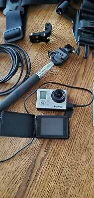 $ CDN56.24 • Buy Gopro Hero 3 Silver With LCD Screen And Accessories