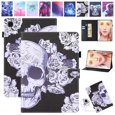 AU14.35 • Buy Leather Kids Case Cover For Samsung Galaxy Tab 4 E S6 Lite S7 Plus 2020 Tablet