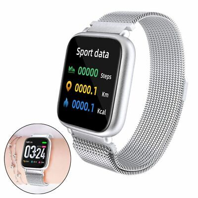 $ CDN49.43 • Buy Touch Screen Smart Watch SMS Calls Reminder For IPhone 8 Plus X 11 12 XR XS Moto