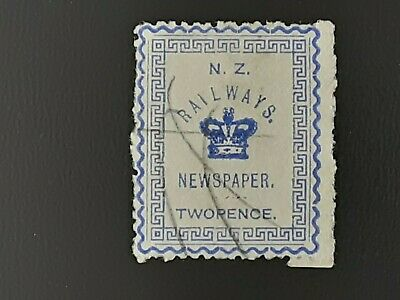 AU3.57 • Buy New Zealand Stamp Railways Used
