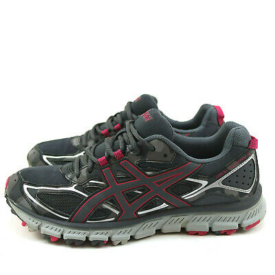 $ CDN31.23 • Buy Asics T6K7N Gel Scram 3 Womens Shoes Size 9 Trail Running Pink Gray Camo Lace Up