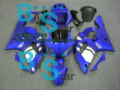 $291.13 • Buy Blue Glossy INJECTION Fairing For Yamaha YZFR6 YZF-R6 1998-2002 21 B3