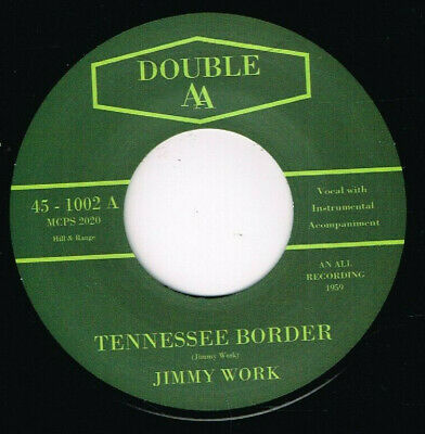 £8.49 • Buy 45Re✦JIMMY WORK Tennessee Border ✦CHARLIE FEATHERS Peeping Eyes  50s Rockabilly♫