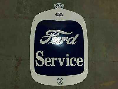 $ CDN140.60 • Buy Porcelain Ford Service Enamel Sign Size 32  X 22  Inches