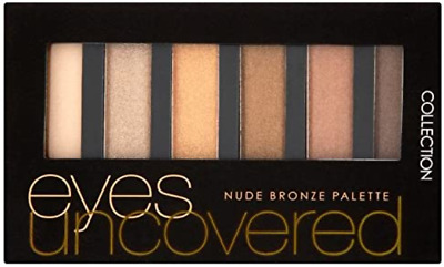 £3.69 • Buy  Collection Eyes Uncovered 6 Shadow  Eyeshadow Palette  Nude Bronze
