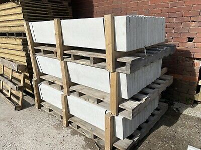 £13.20 • Buy Reinforced 6x1 Concrete Fencing Gravel Boards / Base Panels - New