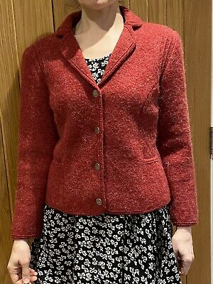 £30 • Buy Boiled Wool Jacket, Distler Trachten, 10/38, Fine Quality, Perfect Condition