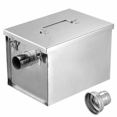 £86.99 • Buy Commercial Stainless Steel Grease Trap Interceptor Restaurant Kitchen Wastewater