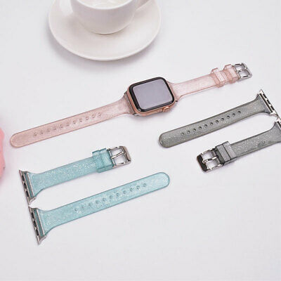 $ CDN5.91 • Buy For Apple Watch Series 6 5 4 3 2 1 SE Silicone Watch Band 38 42MM Universal AU