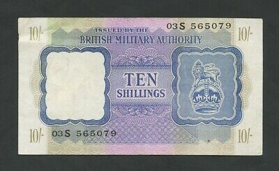 £26.95 • Buy BRITISH MILITARY AUTHORITY  10 Sh  WWII  Krause M5  Banknotes