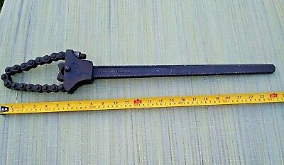 £25 • Buy Original Vintage  Chain Pipe Wrench Champion Products Company. Ltd  London