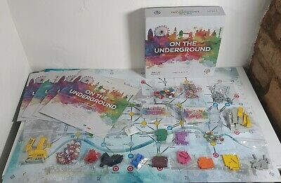 £78.99 • Buy On The Underground - London / Berlin - Deluxe Edition Board Game - 100% Complete