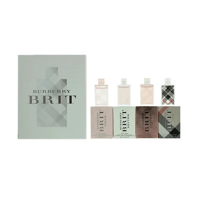 £28.99 • Buy Burberry Brit Collection Miniatures Women's Gift Set Spray (4 X 5ml)