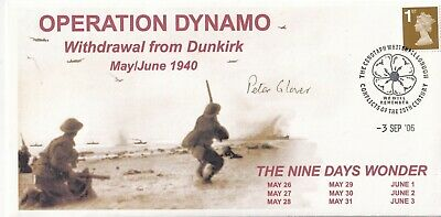 £8.95 • Buy Operation Dynamo Withdrawal From Dunkirk Signed P J Glover In Evacuation
