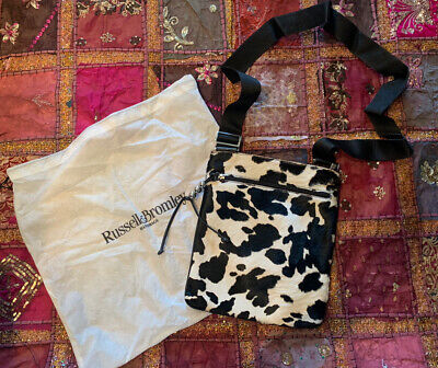 £60 • Buy Russell And Bromley Cow Print Bag
