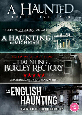 £15.98 • Buy A Haunted Triple: The Haunting Of Borley Rectory/An English... DVD (2020) Zach