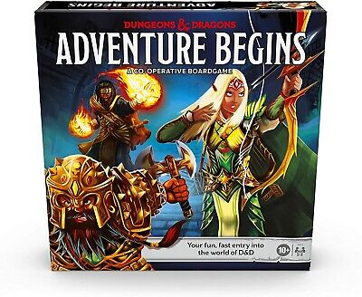 AU55.33 • Buy Dungeons And Dragons Adventure Begins Board Game