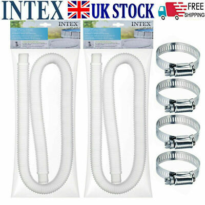 £3.39 • Buy Intex Accessory Hose 32mm Swimming Pool Pipe  1.5m For Pump/Heater/Filter Long