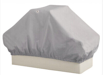 """$ CDN48.44 • Buy Overton's 32121-95000/71923 Back-To-Back Boat Seat Cover 49""""Dx23""""Wx23""""H Gray NEW"""