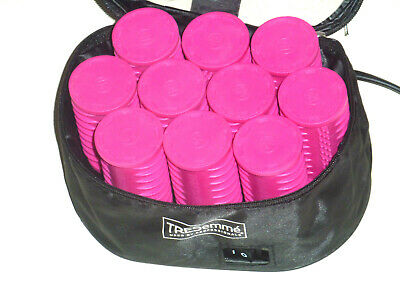 £21 • Buy Tresemme' Travel Heated Hair Rollers Styler    10 Rollers ***no Pins***
