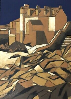 £195 • Buy St. Ives. Oil On Board By Colin Evans.