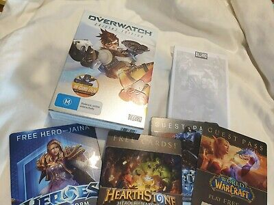 AU17.50 • Buy Overwatch Origins Edition PC Game - USED Good Condition Includes Notepad & Cards