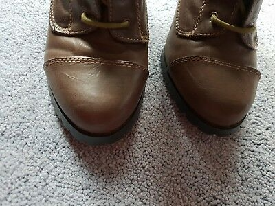 £5 • Buy Red Herring Brown  Shoe Licious Boots Size 5 Leather Uppers