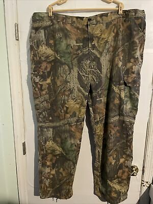 £14.19 • Buy Liberty Advantage Timber Camo Cargo Pants Mens Size 3XL Waist 48-50 Hunting