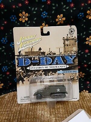 $15 • Buy 2002 Johnny Lightning D-Day Invasion Of Normandy WWII M-16 Half Track ~ NEW