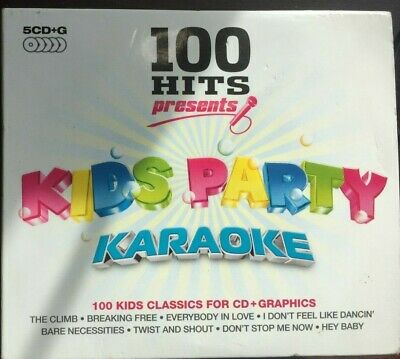 £4.99 • Buy 100 Hits - Kids Party Karaoke - 5 Cd+g Box Set In In Good Condition