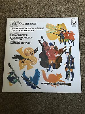 £4.99 • Buy Prokofiev - Peter And The Wolf LP Britten New Philharmonia Orchestra CFP185
