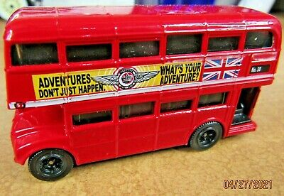 $ CDN21.15 • Buy Matchbox London Bus Red  What's Your Adventure  AEC Routemaster Double Decker